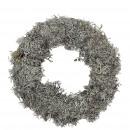 Wreath moss slim, D20, gray-natural